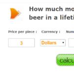 In a lifetime の意味とは? 100万円のビールと200万円のコーヒーを飲んだことがある?