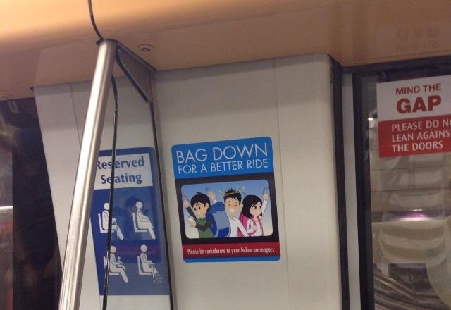 bag down