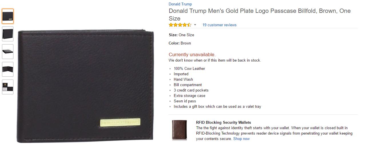 trump wallet PurseとWalletの違いって何? 稼ぐ人はなぜ長財布を使うのか?