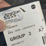 【面倒くさいことになった を英語で】飛行機の搭乗券にSSSSがついていると面倒なことになるらしい