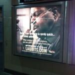 サンフランシスコの地下鉄で遭遇した怖い広告