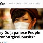 海外ではマスクをしている人は二度見どころか三度見される!?