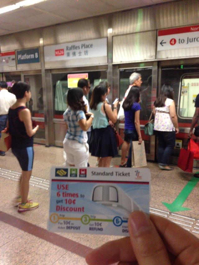 地下鉄 シンガポール